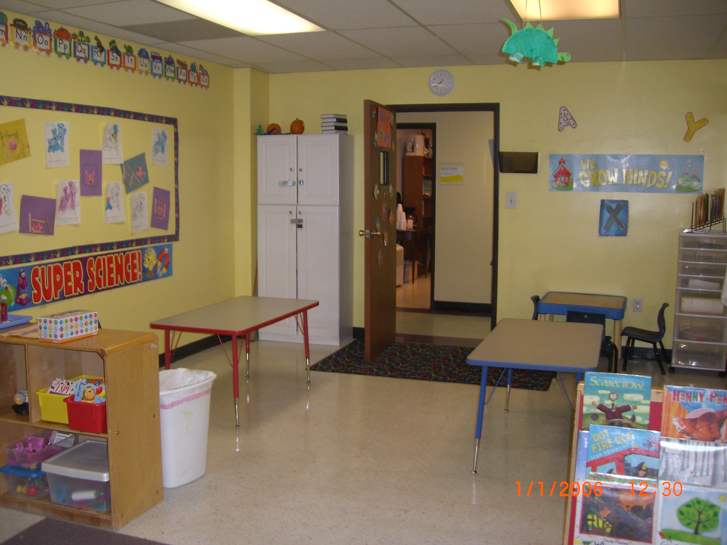 4 year old classroom