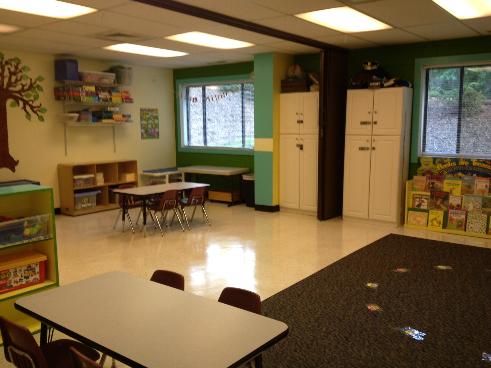 5 day 4 year old/Transitional classroom